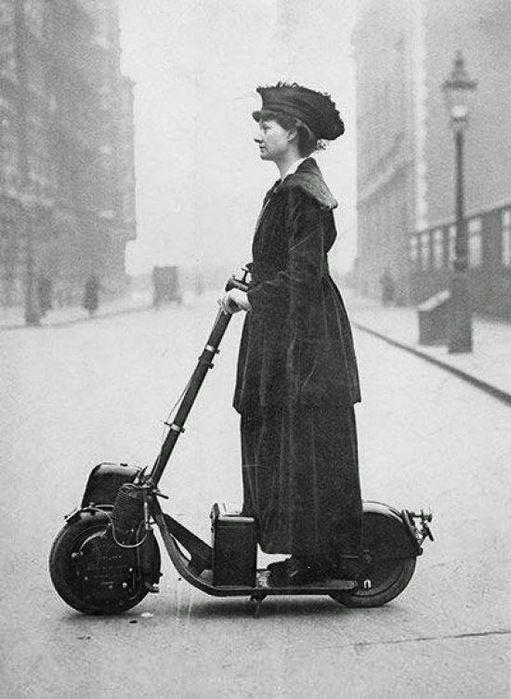 vintage de vanguardia run city florence priscilla scooters eléctricas vintage de vanguardia